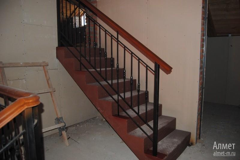 Поручни металлические для лестниц своими руками